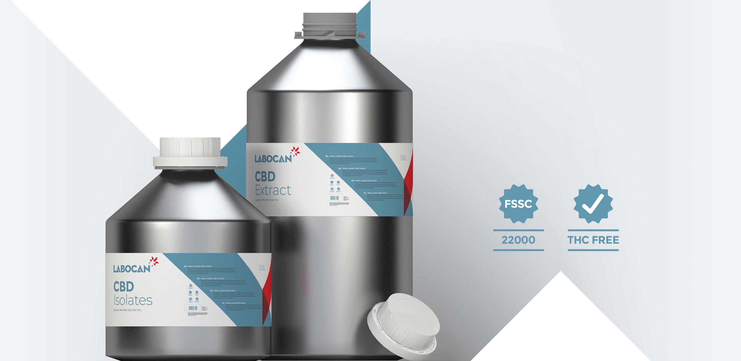 Isolats de CBD et Extraits de CBD Sans THC