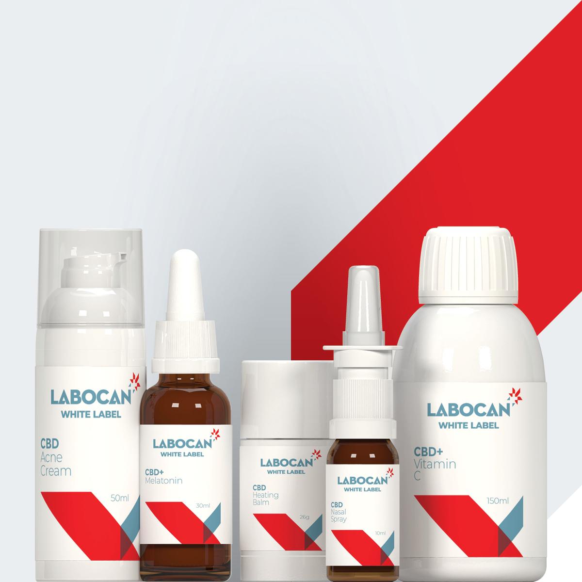Produits en marque blanche Labocan